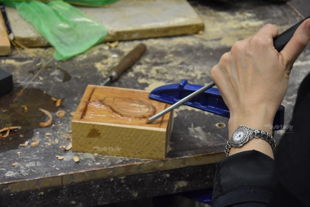 کلاس های خلاقیت با چوب