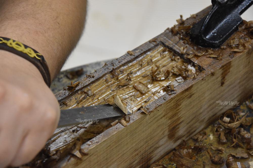 کلاس خلاقیت با چوب