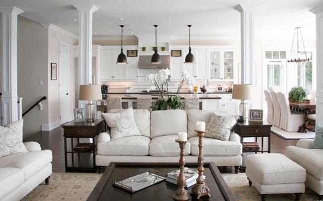 living room conclusion - ۴ اشتباه در مورد اتاق نشیمن و چگونگی تصحیح آنها