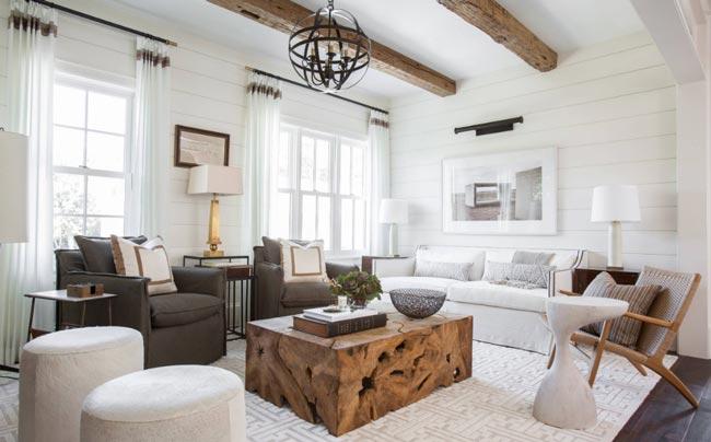 living room layering - ۴ اشتباه در مورد اتاق نشیمن و چگونگی تصحیح آنها