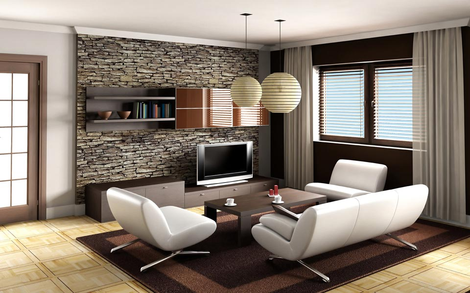 livingroom decoration - دکوراسیون نشیمن