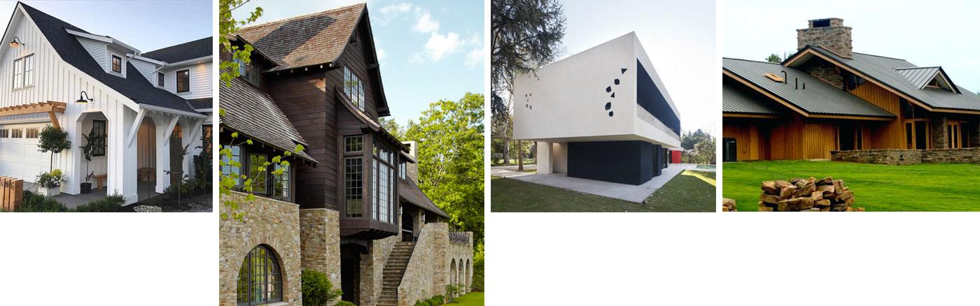 Exterior Design 4 - اصول کلی طراحی نمای خارجی خانه