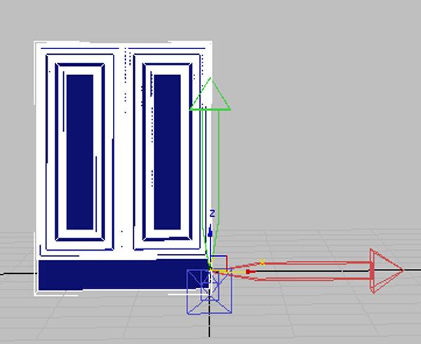تری دی مکس طراحی کابینت