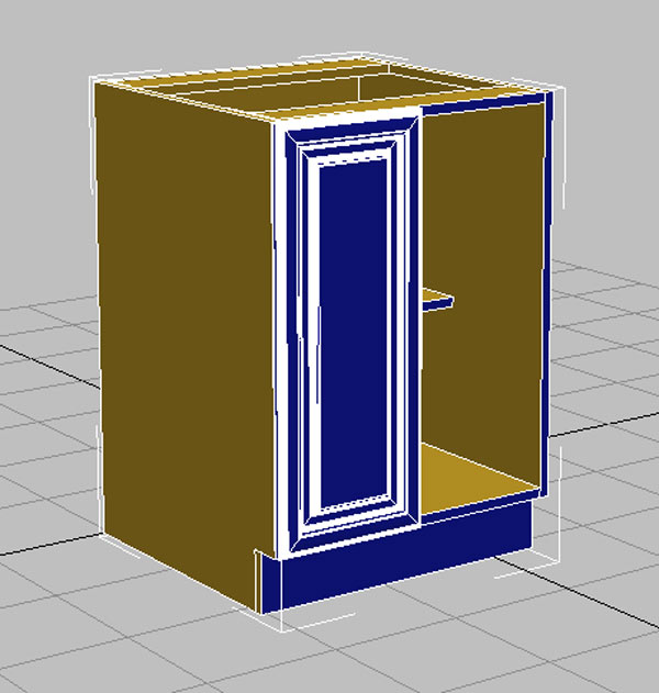 طراحی کابینت با تری دی مکس 1