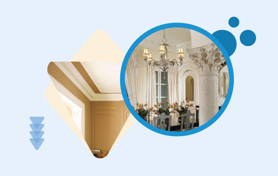 Ceiling Accessories - ترفندهای تزیین سقف