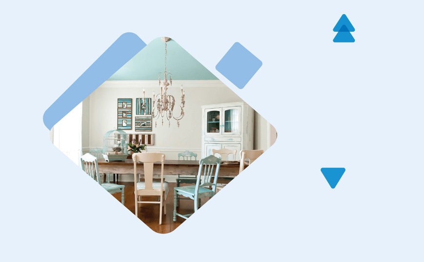 Ceiling Colors for White Walls 2 - ترفندهای تزیین سقف