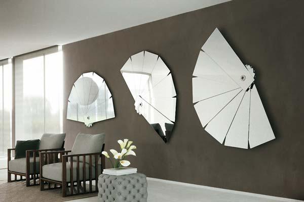 Decorative Wall Mirrors - آینه در دکوراسیون داخلی