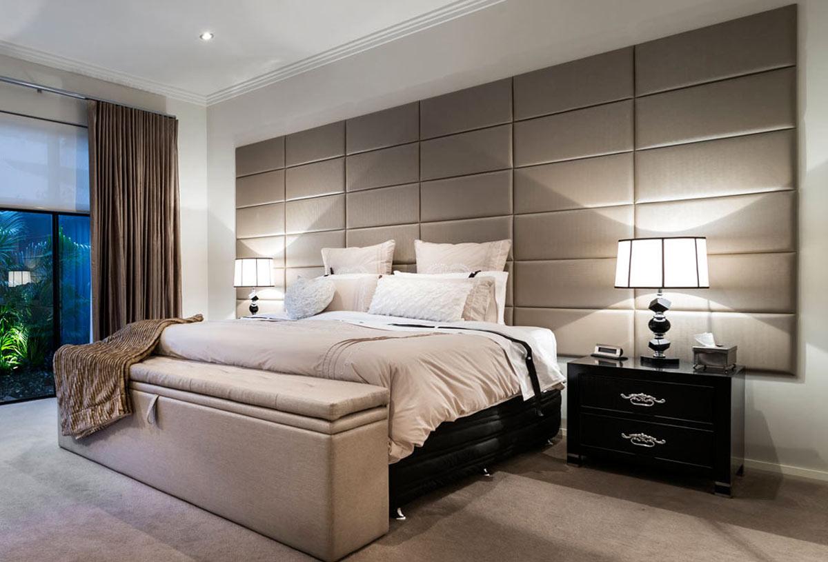 Interiors bedroom - بهترین رنگها برای اتاقهای رو به شمال، جنوب، شرق و غرب