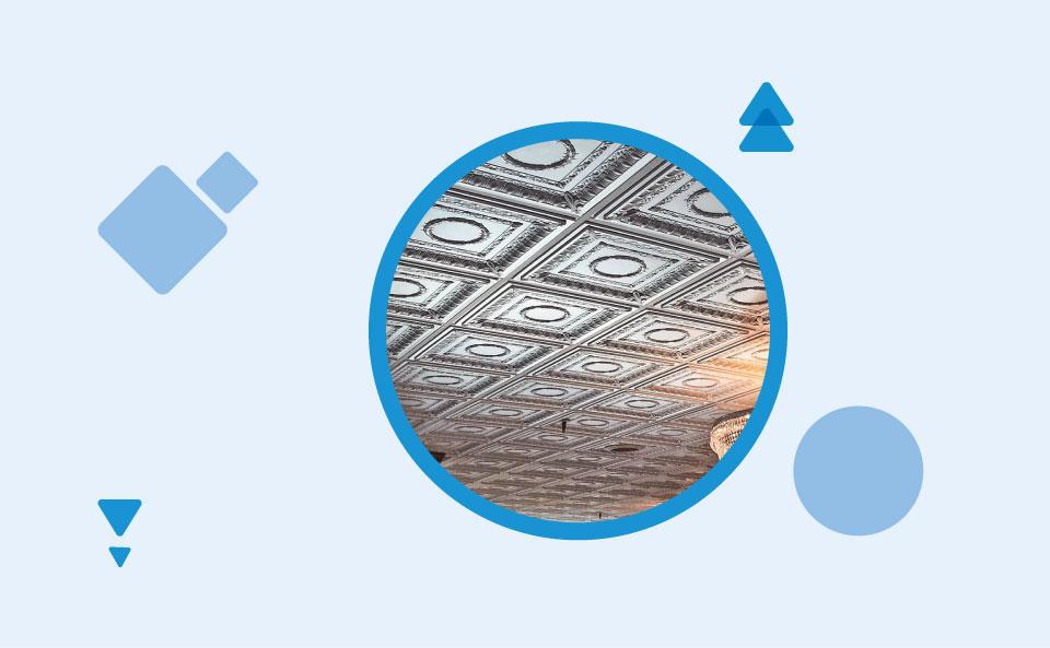 Tin Ceilings - ترفندهای تزیین سقف