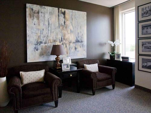 art in interior design - پنج نکتهی مفید برای انتخاب تابلو در دکوراسیون