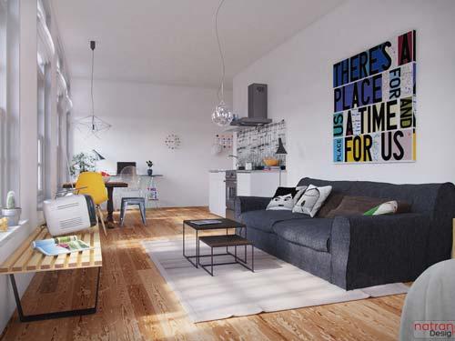 art in interior design 2 - پنج نکتهی مفید برای انتخاب تابلو در دکوراسیون