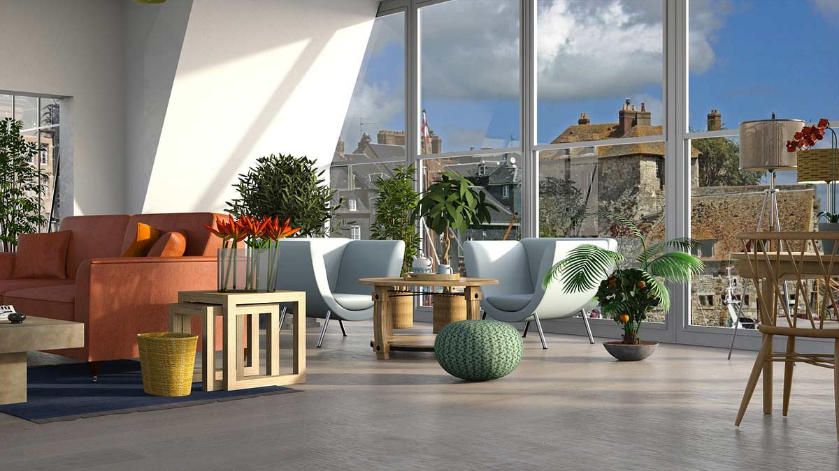 blue decor - جزئیات مربوط به اجزای فضاهای داخلی