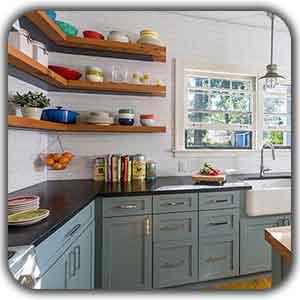 cabinet shelfs design shakhes - مخفی کردن شوفاژ ها