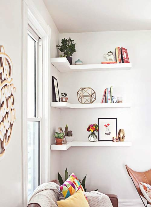 corner decoration - چگونه فضاهای بدساخت را به دکوراسیون شیک تبدیل کنیم؟