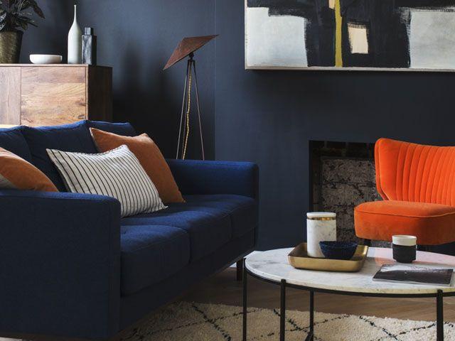dark colour paint interior - رنگ تیره در دکوراسیون داخلی