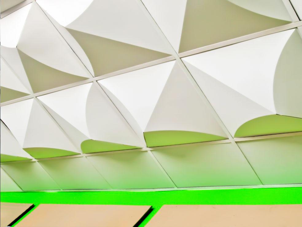 decorasin saghf3d9 - سقف کاذب ، پنل های سه بعدی