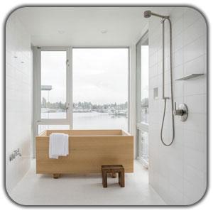 طراحی حمام خاص