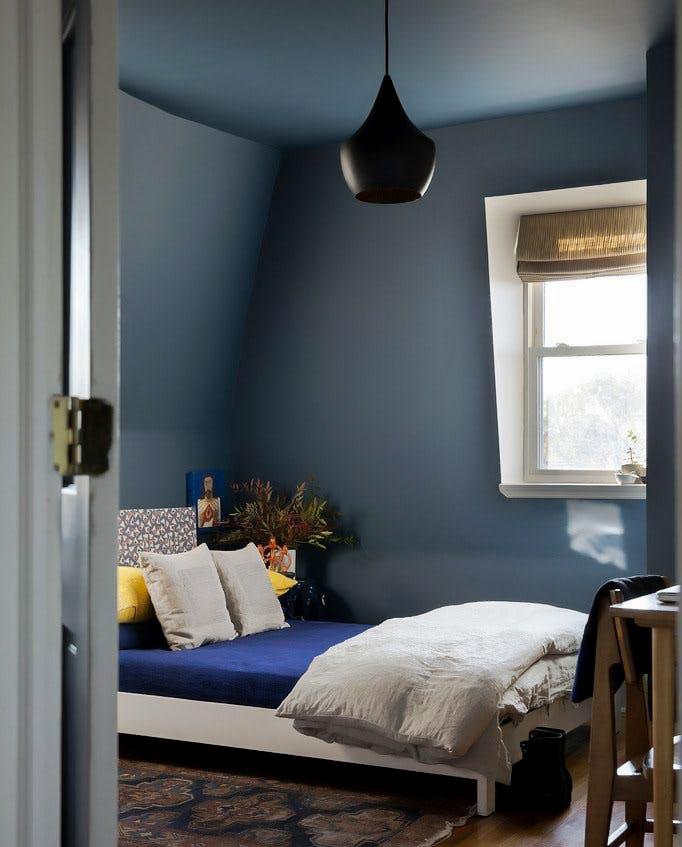 decorasion saghfekotah13 - ۶ روش برای اینکه اتاق ها با سقف کوتاه شیک به نظر آیند
