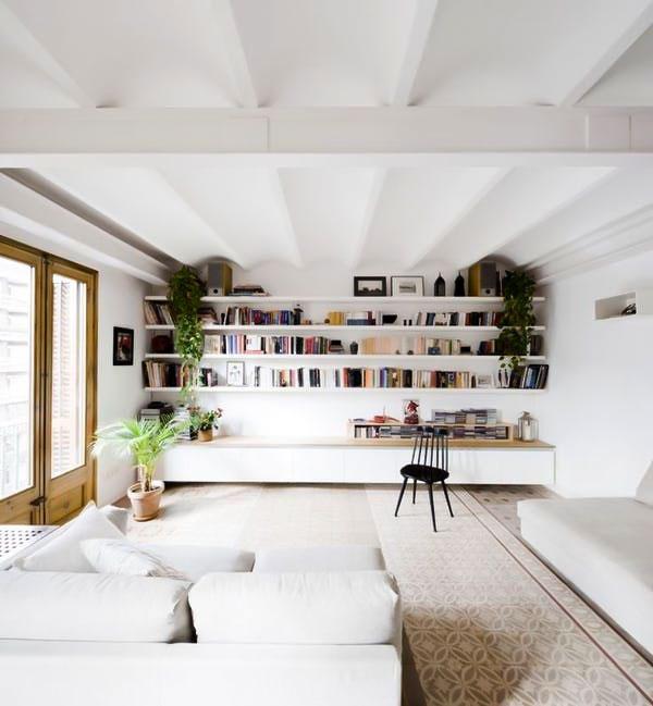 decorasion saghfekotah5 - ۶ روش برای اینکه اتاق ها با سقف کوتاه شیک به نظر آیند