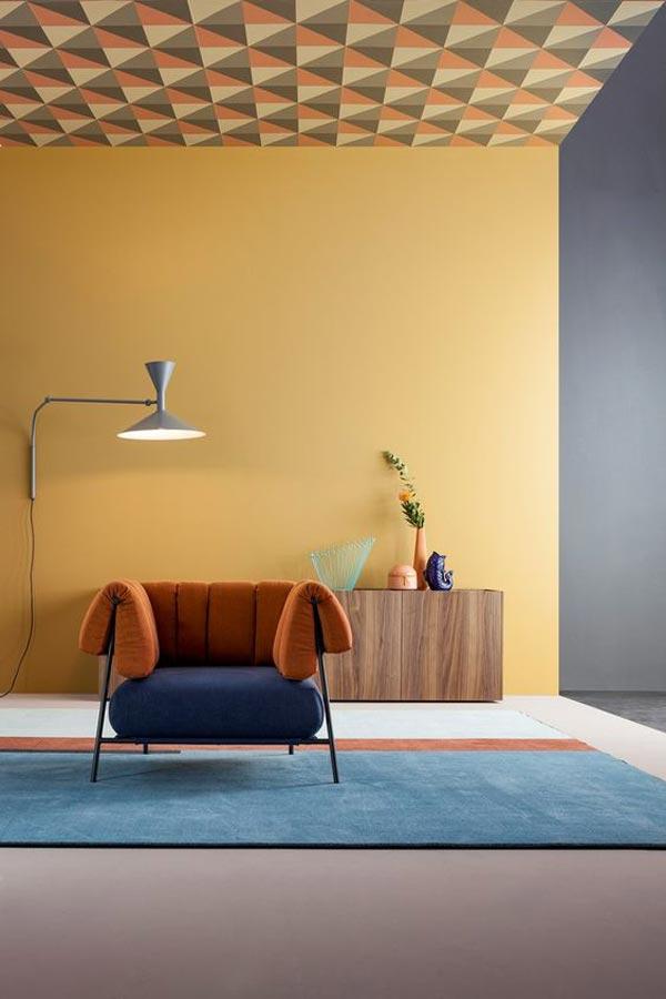 emphesis color - چگونه دیوار تاکیدی و رنگ آن را در اتاق خواب تعیین کنیم ؟