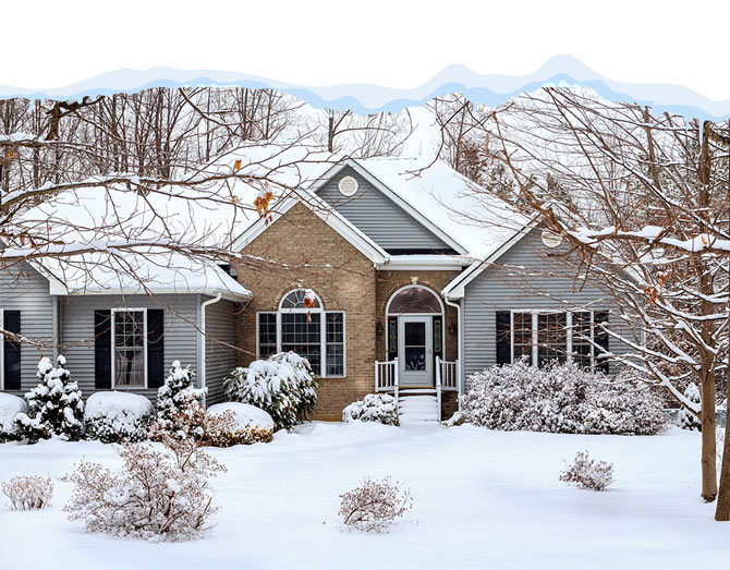 gable roof - کارهایی که با تمام شدن زمستان باید به منظور نگهداری ویلا انجام دهید