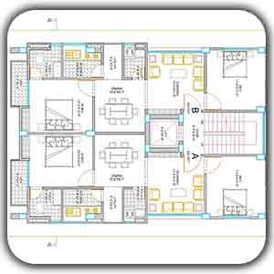 آموزش نقشه کشی برق ساختمان با اتوکد