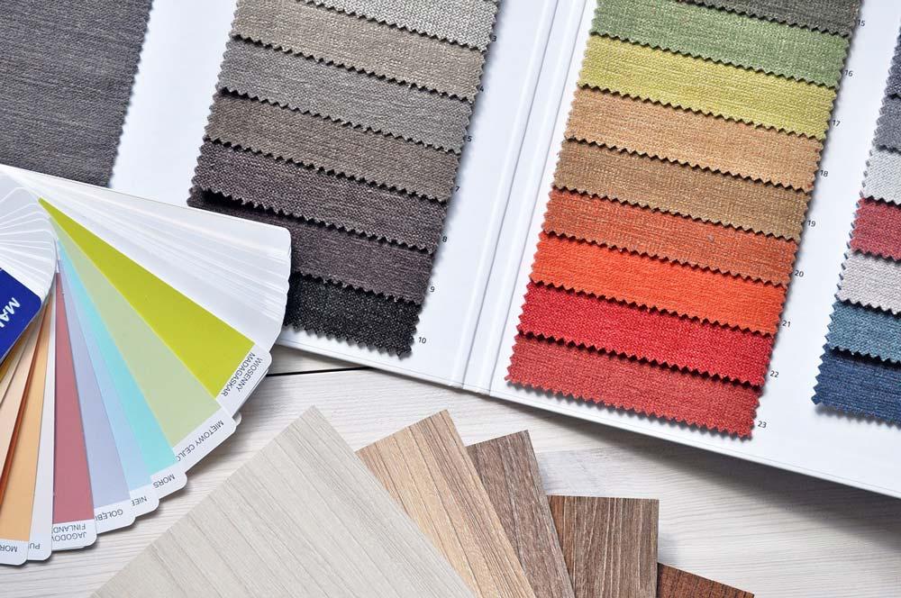 interio design textile - جزئیات مربوط به اجزای فضاهای داخلی