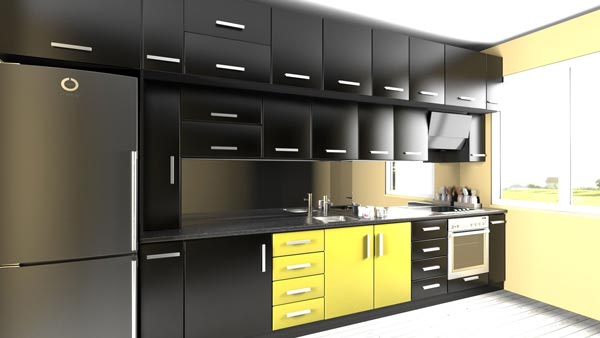 kitchen 3d - طراحی کابینت با تری دی مکس