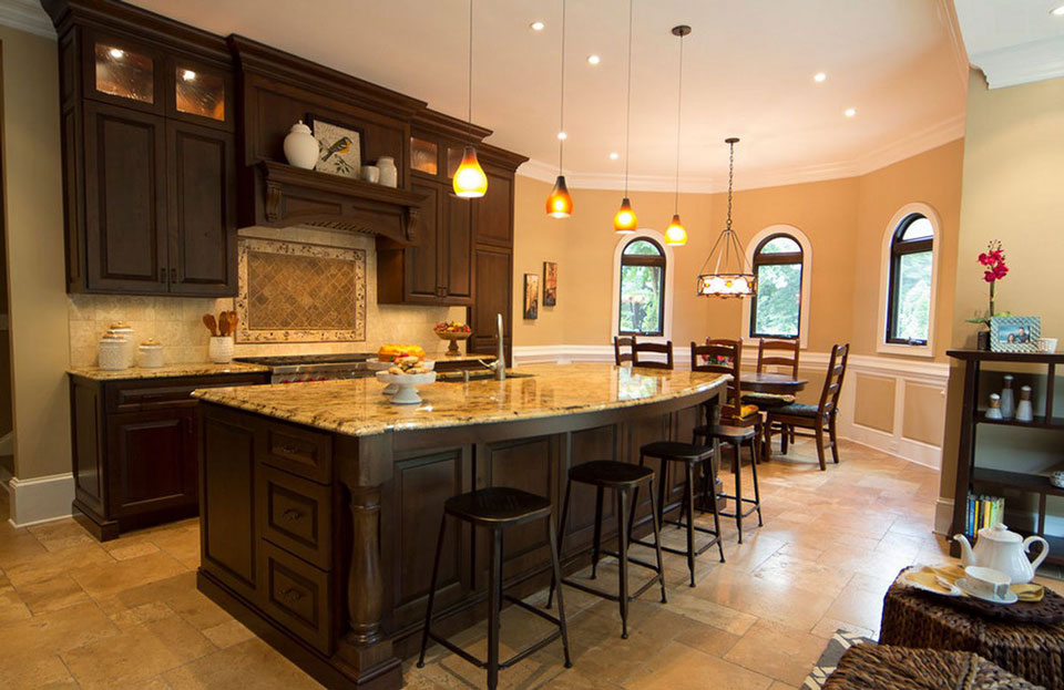 kitchen brightness - اصول طراحی آشپزخانه