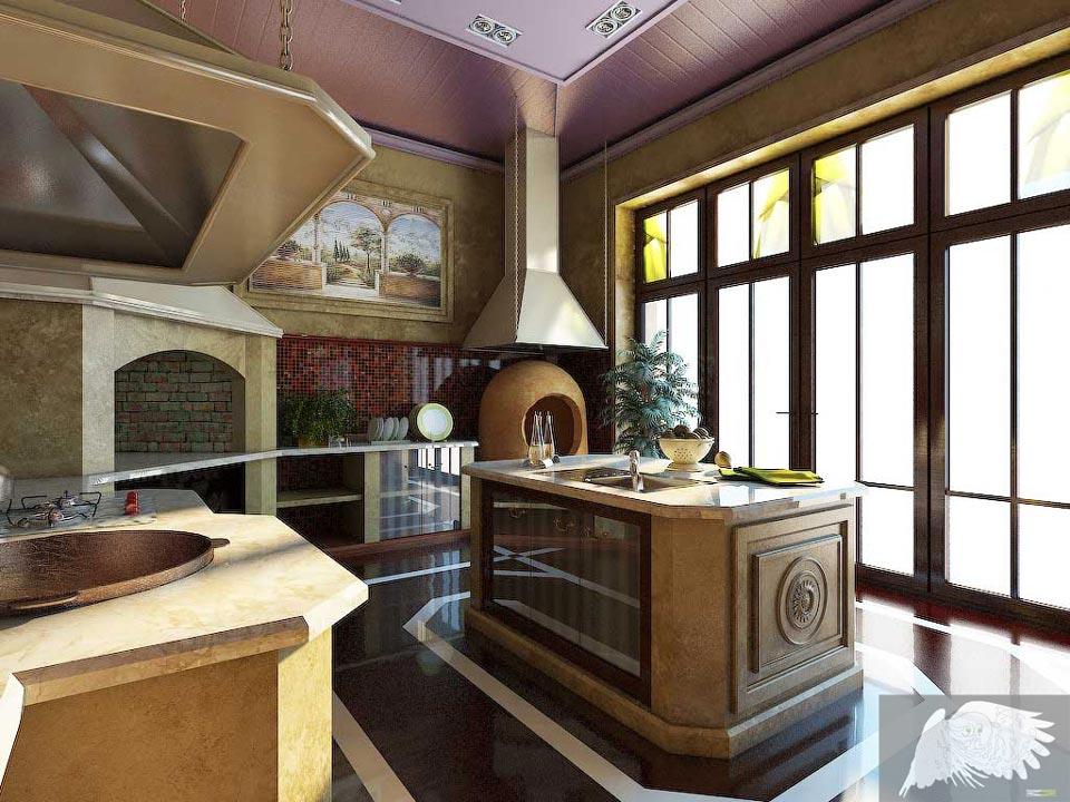 kitchen heater - اصول طراحی آشپزخانه