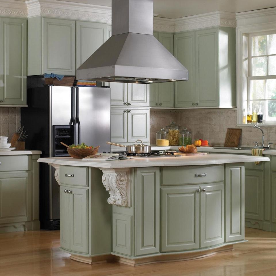 kitchen hood - اصول طراحی آشپزخانه