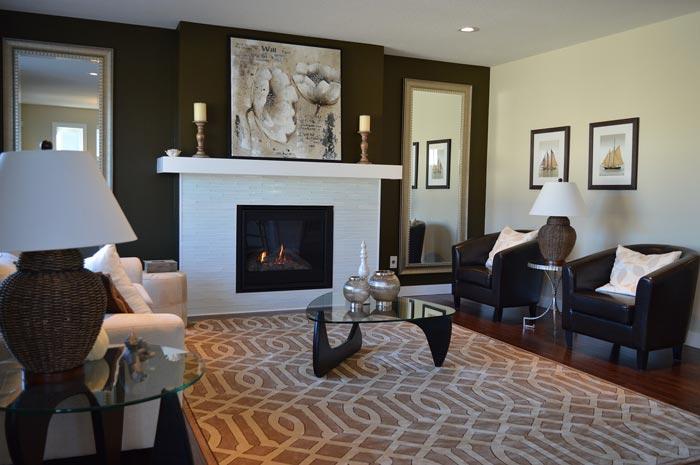 living room - چگونه با استفاده از دکوراسیون داخلی، فضای آپارتمان را گرم تر کنیم؟