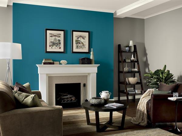 living room colo schemes - چگونه دیوار تاکیدی و رنگ آن را در اتاق خواب تعیین کنیم ؟