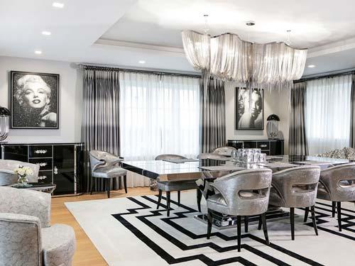 modern painting interior design - پنج نکتهی مفید برای انتخاب تابلو در دکوراسیون