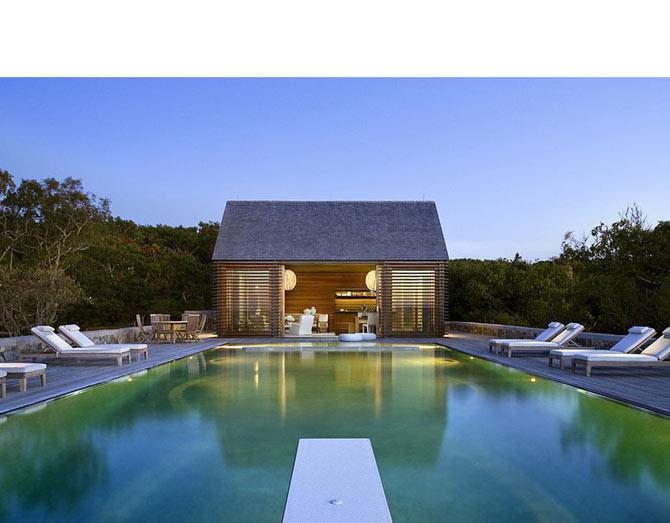 outside pool - کارهایی که با تمام شدن زمستان باید به منظور نگهداری ویلا انجام دهید