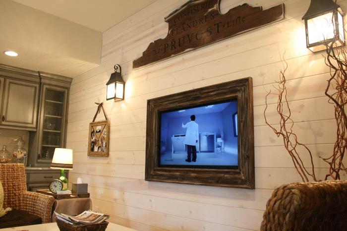 patio tv - ایدهها و نکاتی دربارهی محل قرار گیری و دکور تلویزیون