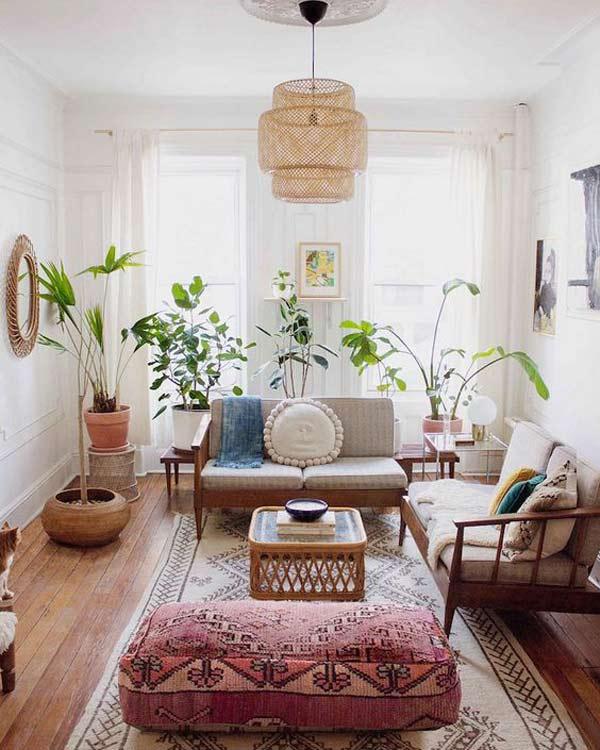 plants in small decoration - هفت عنصری که در خانههای کوچک باید برای آنها جا باز کرد