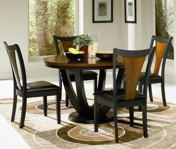 round dining table set - نکاتی که قبل از خرید صندلی ناهارخوری باید بدانید