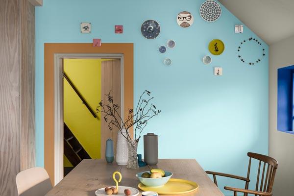 single wall color - چگونه دیوار تاکیدی و رنگ آن را در اتاق خواب تعیین کنیم ؟