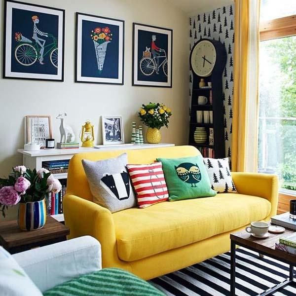 sofa 1 - هفت عنصری که در خانههای کوچک باید برای آنها جا باز کرد