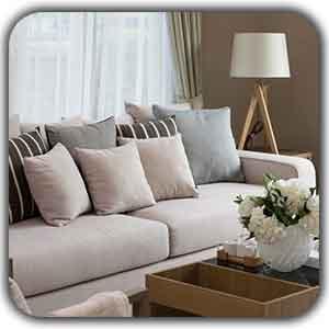 sofa arrangement shakhes - مخفی کردن شوفاژ ها