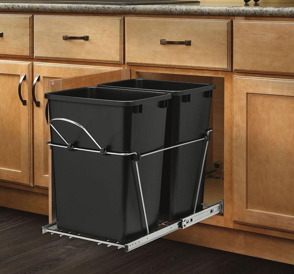 trash can - اصول طراحی آشپزخانه