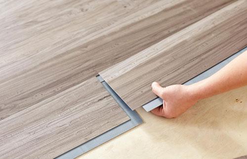 vinyl flooring 2 - اجزای فضای داخلی