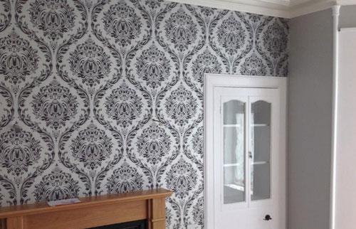 wallpapering wallpaper 1 - اجزای فضای داخلی