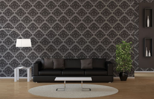 wallpapering wallpaper 4 - اجزای فضای داخلی