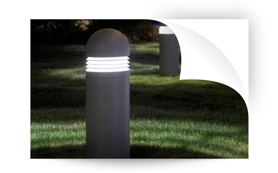 Bollard Lights - نورپردازی لنداسکیپ