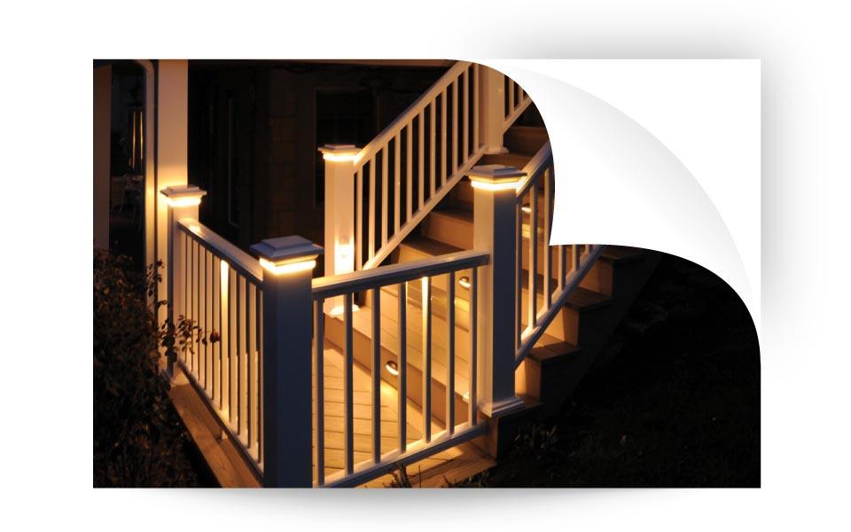 Deck Lights - نورپردازی لنداسکیپ