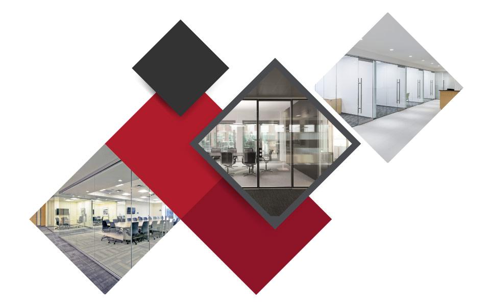 Glass Walls And Doors 2 - ۷ مفهوم نوین طراحی دکوراسیون داخلی محل کار برای جذب بهترین نیروی کار