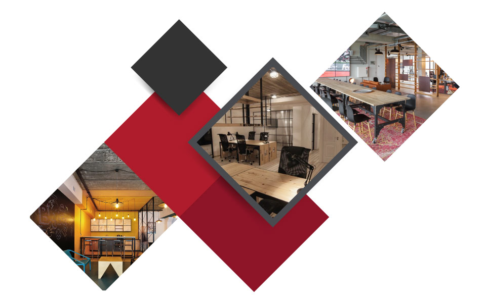 Industrial Office Design - ۷ مفهوم نوین طراحی دکوراسیون داخلی محل کار برای جذب بهترین نیروی کار