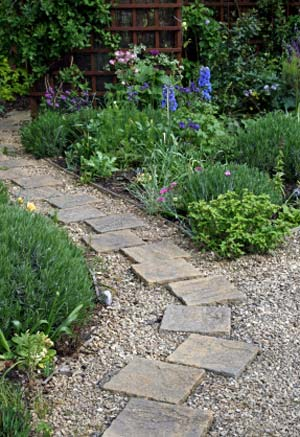Landscape path line - مبانی زیبایی شناسی طراحی منظر